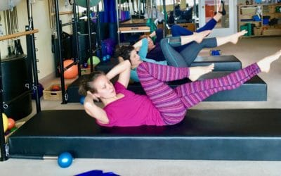 Tight Hip Flexors? Tips to manage a Pilates Mat Class.