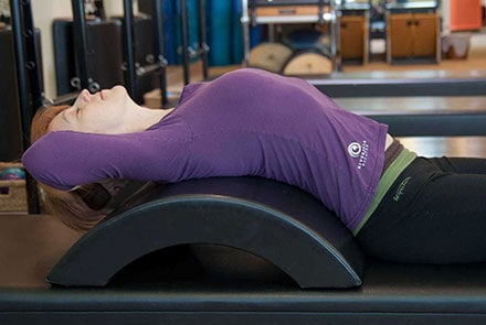 Toronto Pilates Mat Courses, Instructor on Mat
